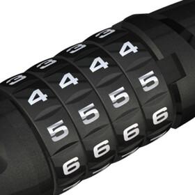 ABUS Steel-O-Flex Tresorflex 6615C BK SCMU Cykellås svart